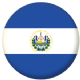 El Salvador Country Flag 25mm Pin Button Badge